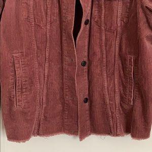 Zara Jackets & Coats - SOLD🎉Zara Oversized Corduroy Jacket